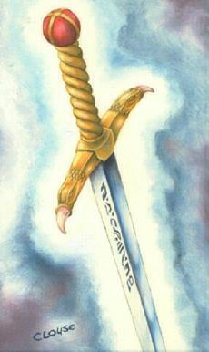 Risultati immagini per spada della luce